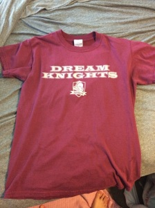 The Knights were the high school's mascot that I would have gone to (that my middle school fed into) if I hadn't gone to a different school.