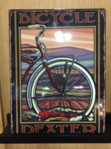 Bicycle Dexter poster
